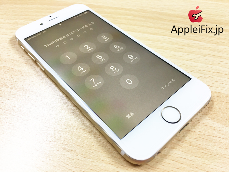 iPhone6液晶漏れ修理 新宿AppleiFix5.JPG