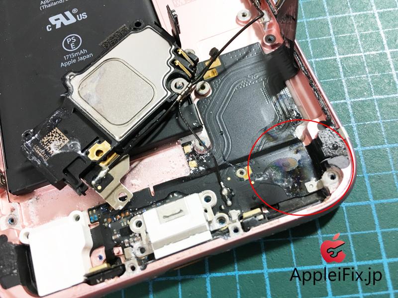 iPhone6S水没修理.JPG