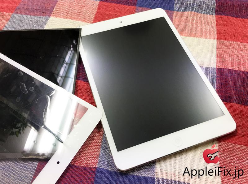 iPadmini ガラス交換修理と液晶交換修理.JPG
