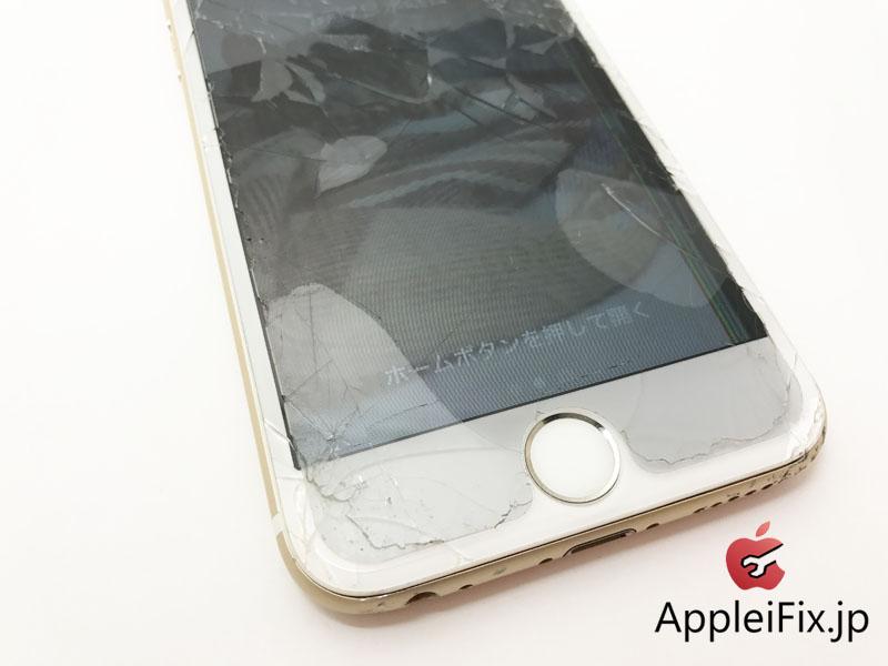 iPhone6フロントパネル交換修理 新宿4.JPG