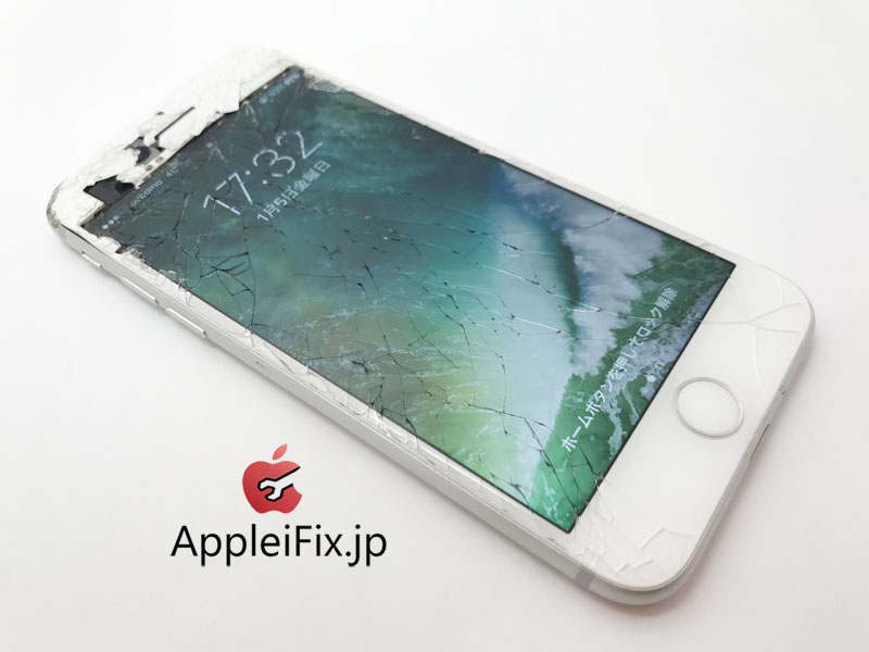 iPhone7画面交換修理と凹み・歪み緩和作業修理3.jpg