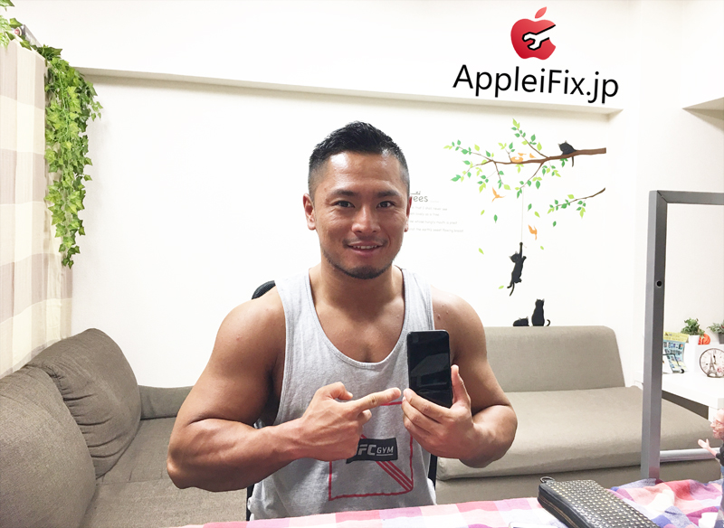 iPhone7液晶交換修理AppleiFix修理専門店5.JPG
