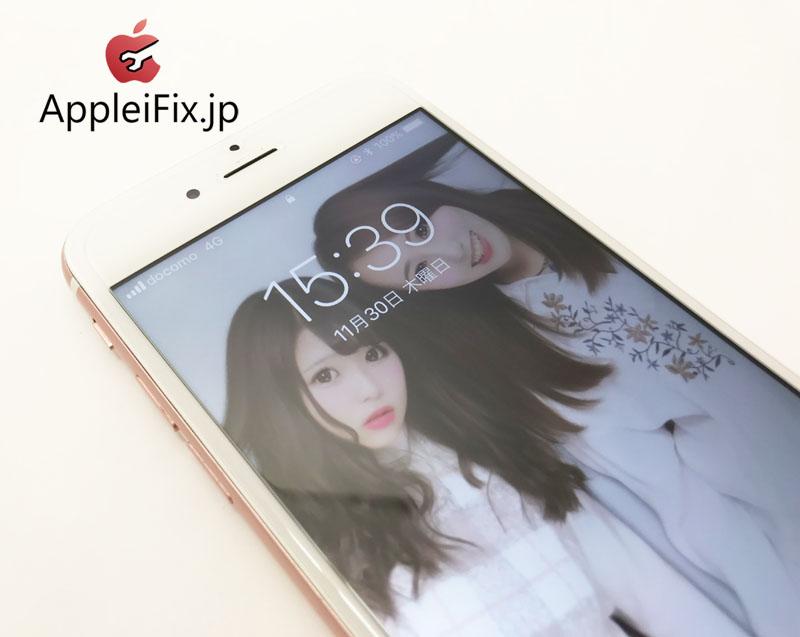 iPhone6S ガラス+液晶セット交換修理 新宿AppleiFix4.JPG