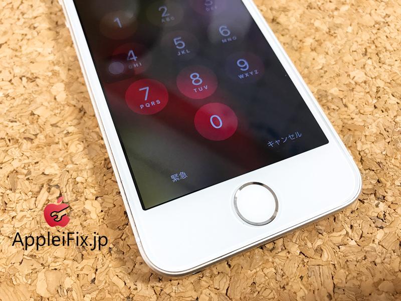 iPhoneSE画面割れ修理とホームボタン修理.JPG