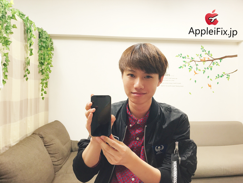 iPhoneX画面修理 AppleiFix修理専門店1.JPG