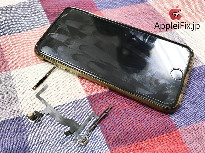 iPhone6Sスリープボタンケーブル交換修理1.jpg